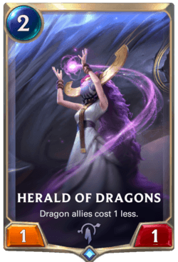 Herald of Dragons Legends of Runeterra