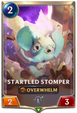 Startled Stomper Legends of Runeterra