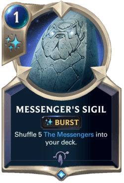 Messenger's Sigil Legends of Runeterra