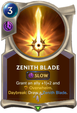 Zenith Blade Legends of Runeterra