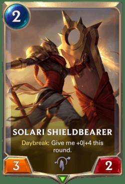 Solari Shieldbearer Legends of Runeterra