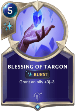 Blessing of Targon Legends of Runeterra
