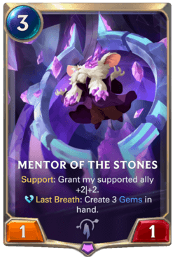 Mentor of the Stones Legends of Runeterra