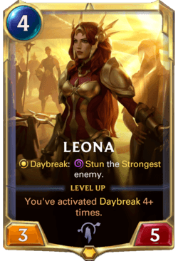 Leona Legends of Runeterra