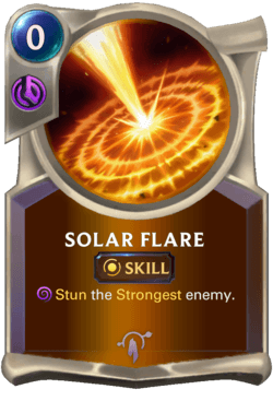 Solar Flare Legends of Runeterra