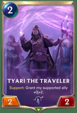 Tyari the Traveler Legends of Runeterra