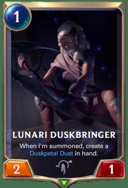 Lunari Duskbringer Legends of Runeterra