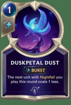 Duskpetal Dust Legends of Runeterra