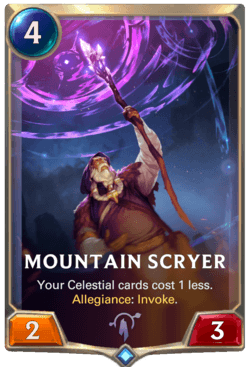 Mountain Scryer Legends of Runeterra