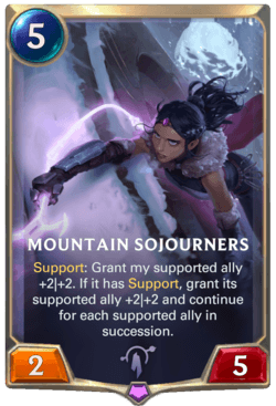Mountain Sojourners Legends of Runeterra
