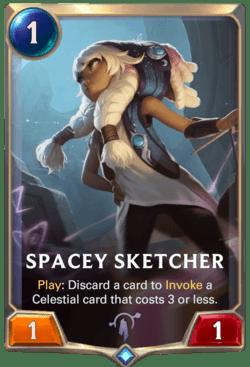 Spacey Sketcher Legends of Runeterra