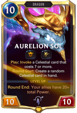 Aurelion Sol Legends of Runeterra