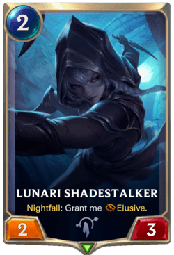 Lunari Shadestalker Legends of Runeterra