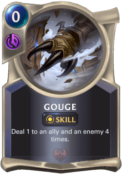 Gouge Legends of Runeterra