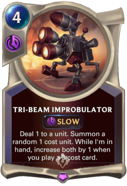Tri-beam Improbulator Legends of Runeterra