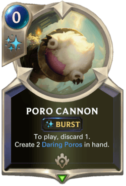 Poro Cannon Legends of Runeterra