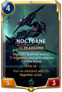 Nocturne Legends of Runeterra