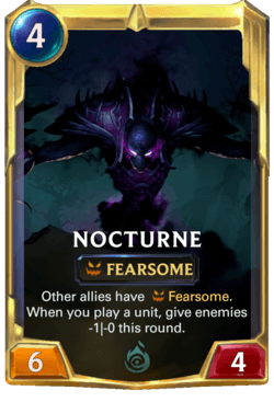 Nocturne 2 Legends of Runeterra