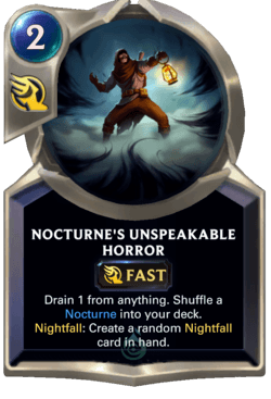 Nocturne's Unspeakable Horror Legends of Runeterra