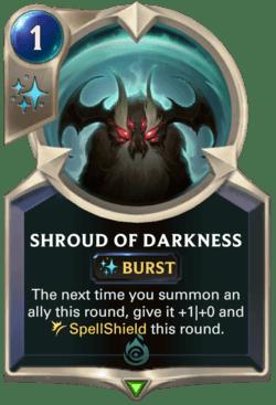 Shroud of Darkness Legends of Runeterra