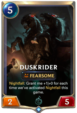 Duskrider Legends of Runeterra