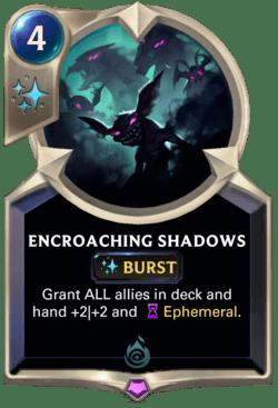 Encroaching Shadows Legends of Runeterra