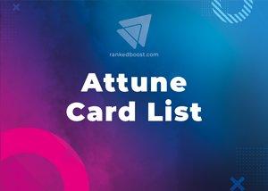 Attune Cards List LoR