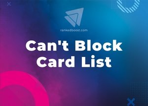 Can't Block Cards List LoR