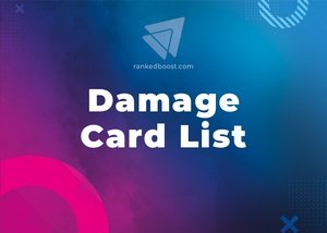 Damage Cards List LoR