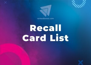 Recall Unit Cards List LoR