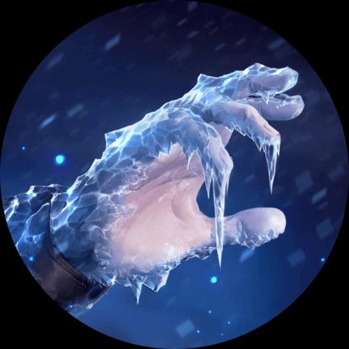 LoR Flash Freeze Artwork