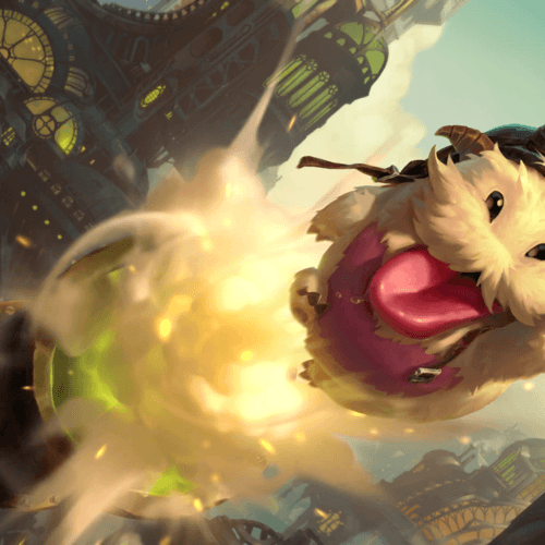 LoR Daring Poro  Artwork
