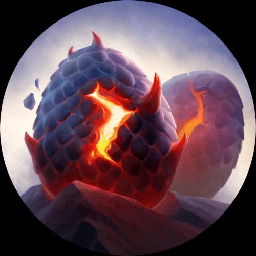 LoR Dragon's Clutch Artwork