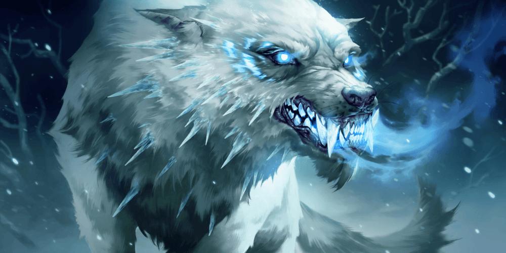 LoR Rimefang Wolf Artwork