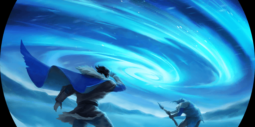 LoR Anivia's Harsh Winds  Artwork