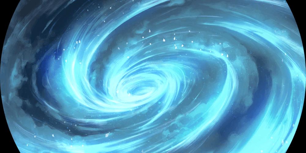 LoR Glacial Storm  Artwork