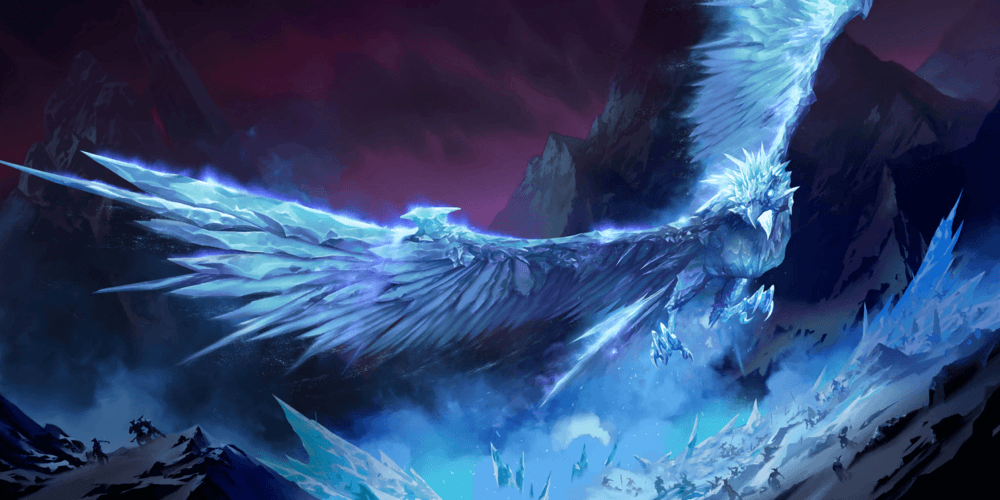 LoR Anivia  2 Artwork