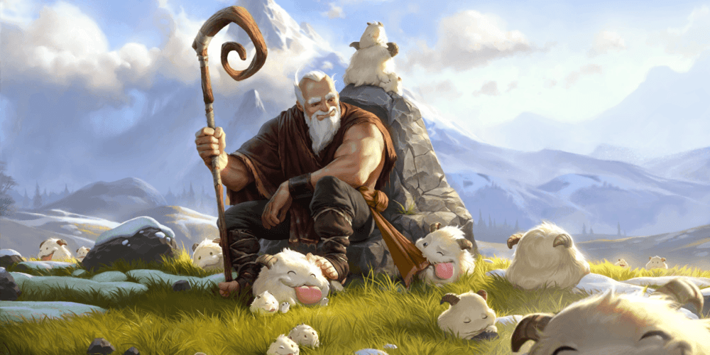 LoR Poro Herder Artwork