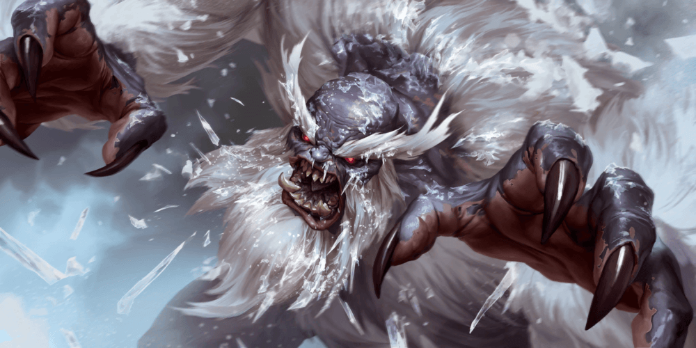 LoR Enraged Yeti  Artwork