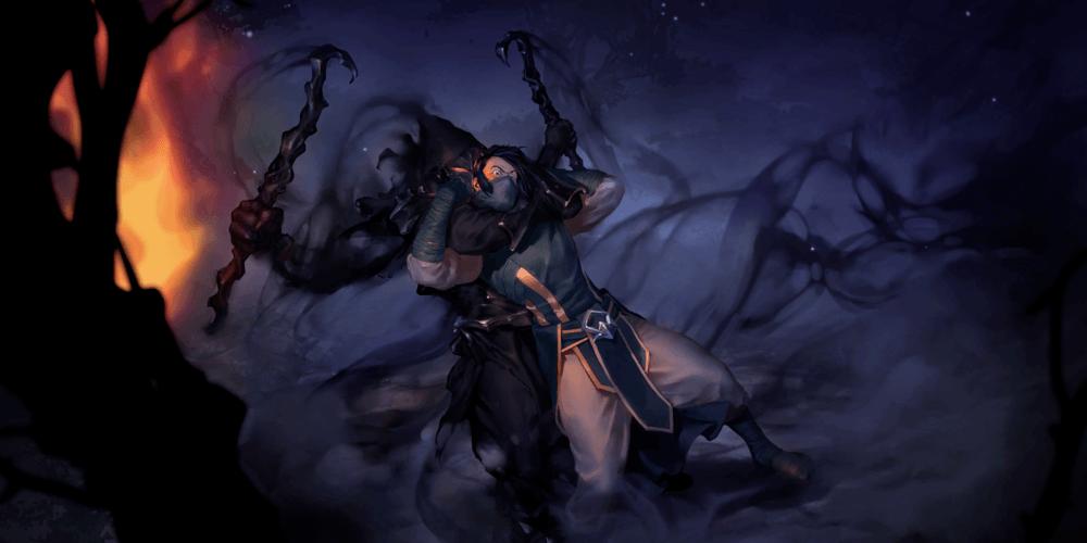 LoR Ren Shadowblade Artwork