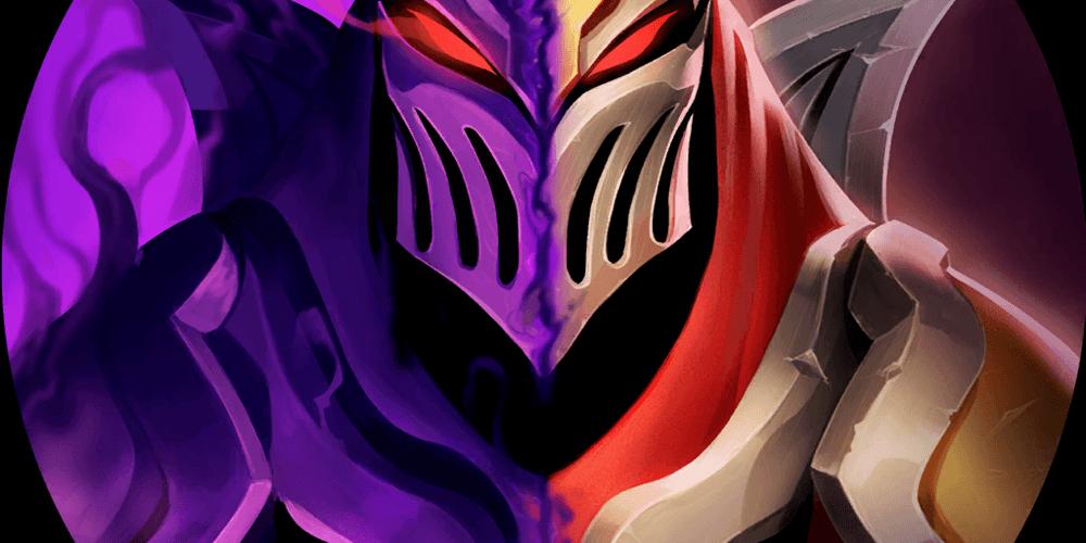 LoR Zed's Shadowshift  Artwork