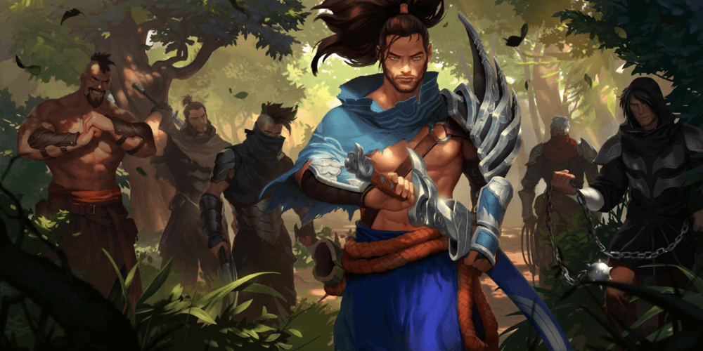 LoR Yasuo Artwork