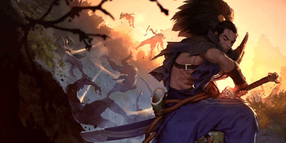 LoR Yasuo  2 Artwork