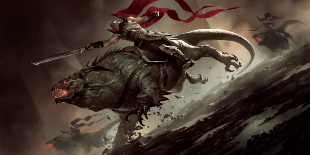 LoR Basilisk Rider Artwork