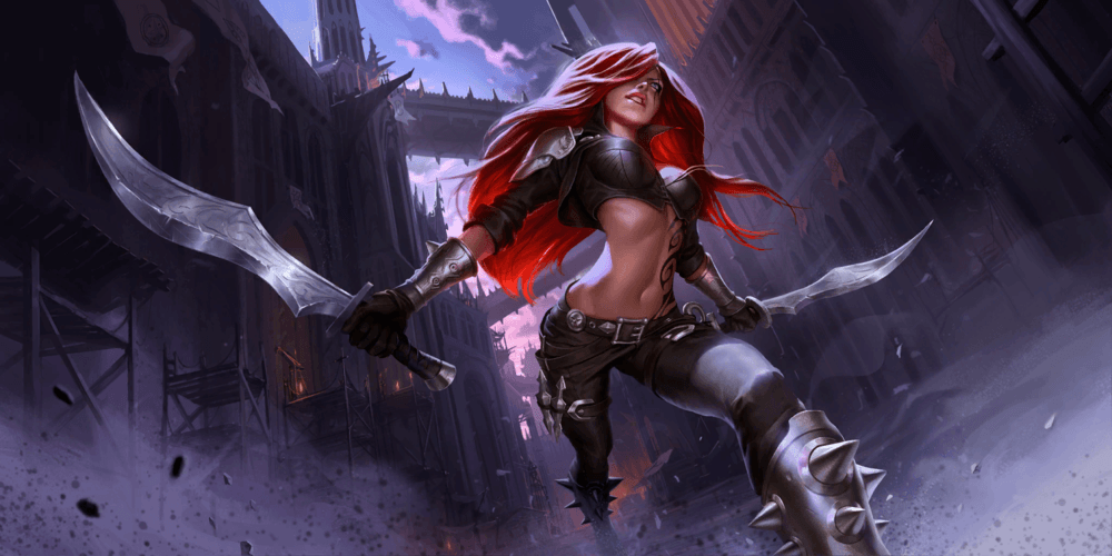 LoR Katarina Artwork