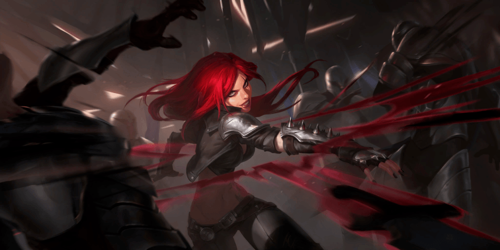 LoR Katarina  2 Artwork