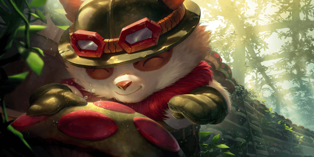LoR Teemo Artwork