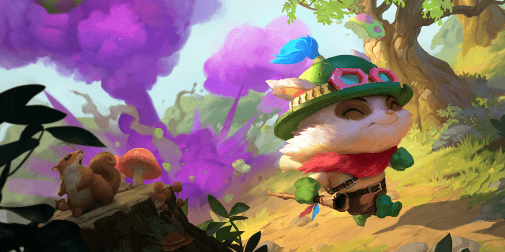 LoR Teemo  2 Artwork