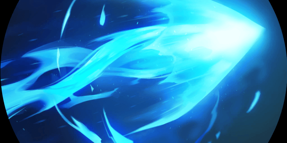 LoR Ezreal's Mystic Shot  Artwork