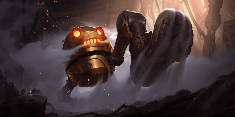 LoR Golden Crushbot Artwork